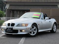 BMW Z3ロードスター2.2iナビ 16AW Mスポステアリング ETC オープン