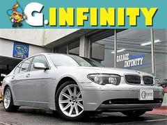BMW735i・純DVDナビ・SR・HID・純19AW・黒革シート
