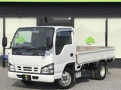 エルフトラック4.8D フルフラットロー低床 4.7m 買取車 ディーゼル