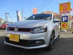 VW ポロGTI ワンオーナー ユーザー買取車 社外SDナビ Bカメラ