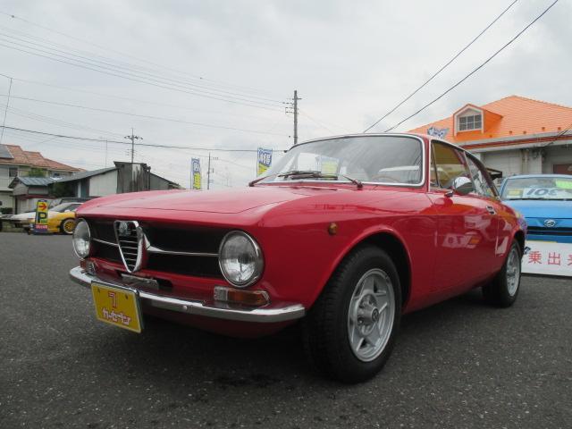 アルファロメオ GT1600ジュニア ユーザー買取車 当時物 左H 革シート