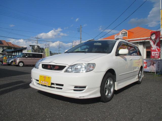 トヨタ X Gエディション ユーザー買取車 ワンオーナー 純正エアロ