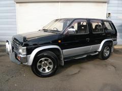 テラノV6−3000 ワイドR3M HDDナビ背面タイヤ15AW