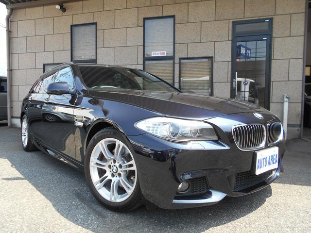 BMW 523iツーリング Mスポーツパッケージ 本革 HDDナビ