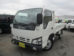 エルフトラック強化フルフラットローダンプ Wタイヤ 2000Kg積載