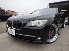 BMW750i 正規D車 ローダウン 純正HDDナビフルセグ
