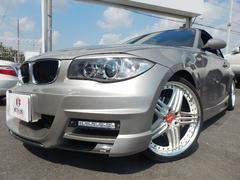 BMW120i カブリオレ 正規D車 エナジーフルエアロ 車高調