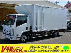 エルフトラックワイド超ロング 冷蔵冷凍車 スタンバイ 積載3900kg