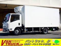 エルフトラックワイドロング 冷蔵冷凍車 マルチゲート 積載2950kg