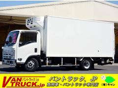 エルフトラックワイドロング −5度設定 新明和リフト サーモキング