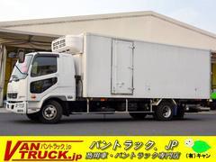 ファイター4トン 冷蔵冷凍車 サイドドア 格納リフト スタンバイ