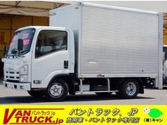 エルフトラック10尺 アルミバン 垂直リフト AT 積載2000kg