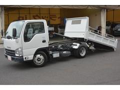 エルフトラックローダーダンプ  新明和 コボレーン 積載3000kg
