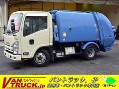 エルフトラックパッカー車 極東製 プレス式 4.2立米 積載2000kg