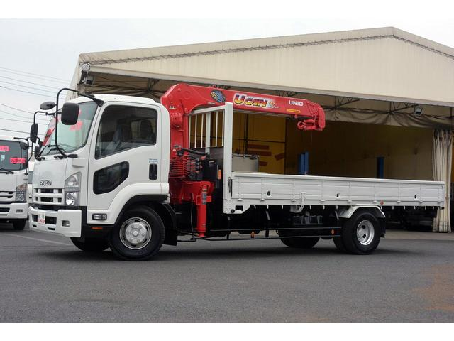 いすゞ 4段クレーン ラジコン 積載2700kg フルカワユニック