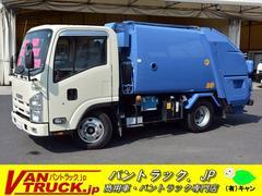 エルフトラックパッカー車 モリタ製 プレス式 4.1立米 エンジン交換歴有
