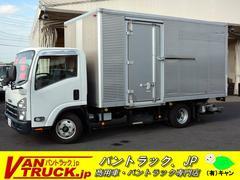 エルフトラックワイドロング アルミバン 格納リフト 積載2000kg