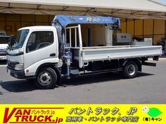 ダイナトラックワイド超ロング 4段クレーン タダノ製 積載3500kg