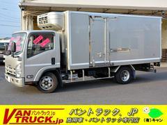 エルフトラックワイドロング 冷蔵冷凍車 サイドドア 積載3000kg