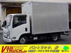 エルフトラック10尺 アルミバン 積載2000kg ラッシングレール2段