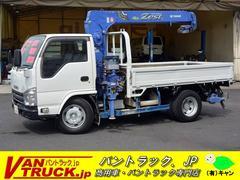 エルフトラック10尺 3段クレーン 積載3.6t ラジコン リアジャッキ