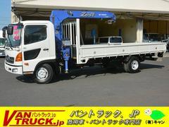 ヒノレンジャー4段クレーン タダノ ラジコン 積載2750kg フックイン