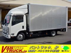 エルフトラックワイドロング アルミバン 垂直リフト  積載2000kg