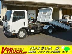 エルフトラックワイド ローダーダンプ 新明和製 積載3650kg リモコン