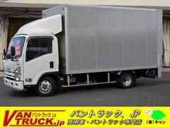 エルフトラックワイドロング アルミバン 積載2000kg 垂直リフト
