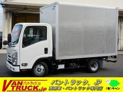 エルフトラック10尺 アルミバン 積載2000kg ラッシング2段 MT
