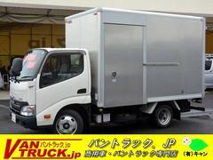 ダイナトラック10尺アルミバン サイドドア 積載2000kg ラッシング