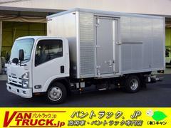 エルフトラックワイドロングアルミバン 格納リフト 積載2000kg