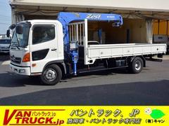 ヒノレンジャー4段クレーン タダノ製 積載2800kg ラジコン AT車