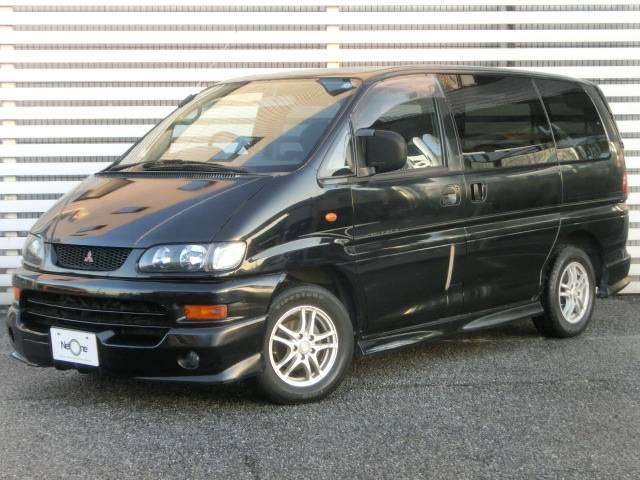 三菱 デリカスペースギア エアロ 社外アルミホイール ETC (車...