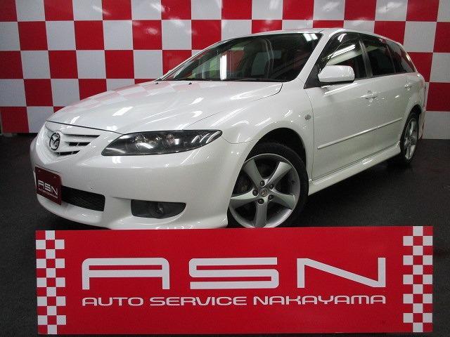 Mazda Atenza Sport Wagon 23c 2005 Pearl White 89756 Km