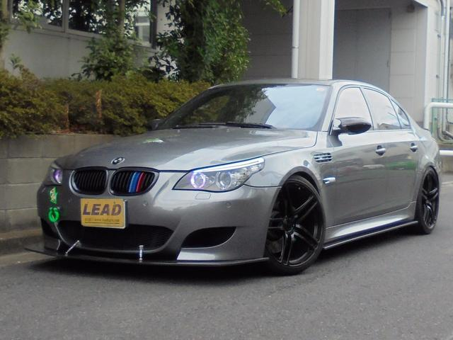 BMW M5  Power Craftマフラー OS技研 LSD