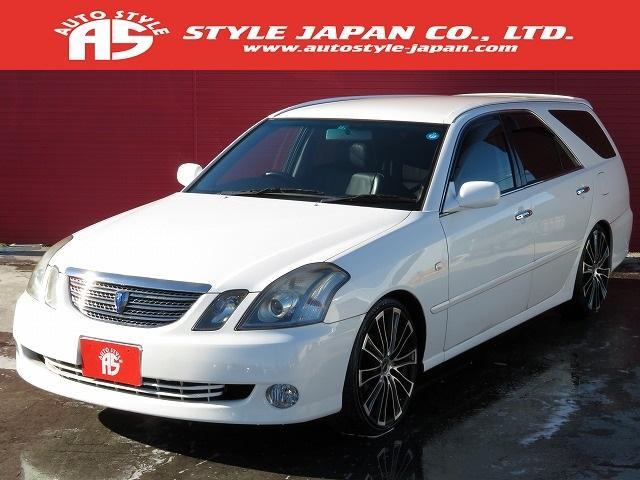 トヨタ 2.5iR-S Four 4WD 黒革 19AW 車高調