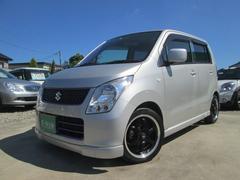 ワゴンRFX ナビTV ETC エアロ アルミ付 Tチェーン車