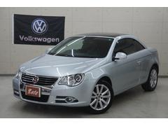 VW イオスV6 電動オープン 黒革 HDDナビ ガレージ保管 正規D車