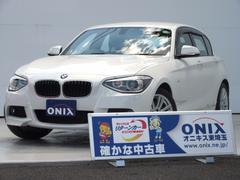 BMW116i Mスポーツ Goo鑑定車・純正HDDナビ