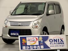 ワゴンRFX ID車両・社外Mナビ・ワンセグ・禁煙車