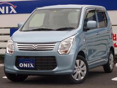 ワゴンRFX ID車両・社外Mナビ・ワンセグ