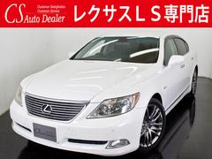 LS460VerS−I 黒革 コンビハン HDD OPメッキAW