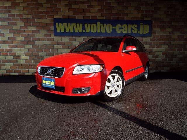 ボルボ V50 2.4アクティブ CD  ETC  1オーナ 09...