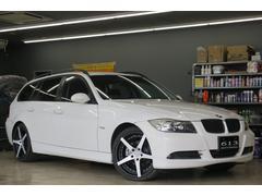 BMW320iツーリング HDDナビ ETC 19インチアルミ