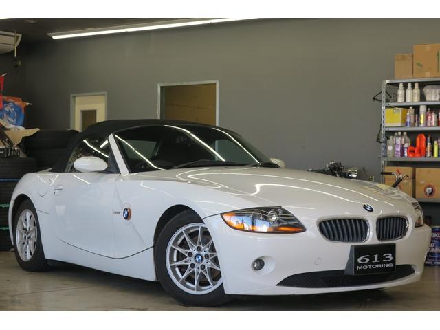 BMW Z4 2.2i HDDナビ 電動オープン 記録簿 自動防眩...