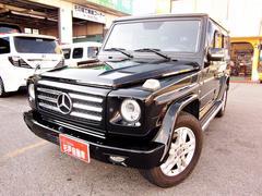 M・ベンツG550ロング ディーラー車 サンルーフ 禁煙車 黒革シート
