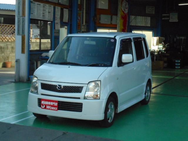 マツダ AZワゴン FT アルミ CD (車検整備付)