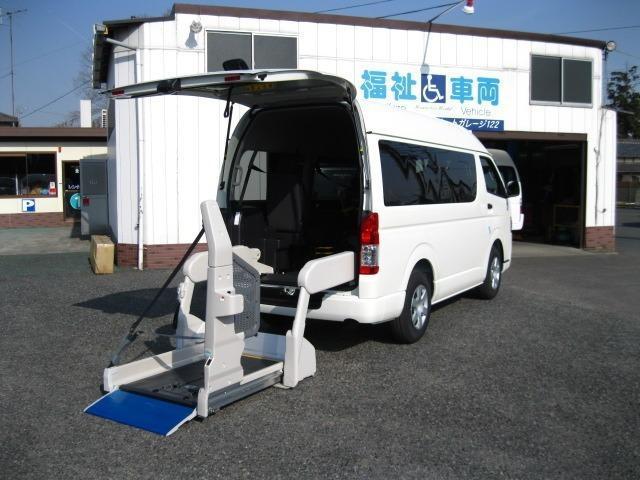 トヨタ 2.0ウェルキャブ Bタイプロング オプション自動ドア付
