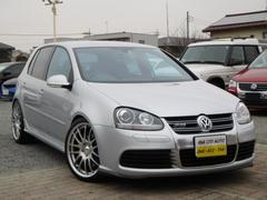 VW ゴルフ R32 全国1年保証 1オナ禁煙 車高調 19アルミ 外マフ(フォルクスワーゲン)